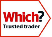 The Which? Trusted Trader logo