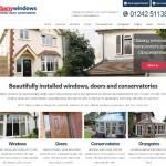 Albany Windows new double glazing website for Cheltenham