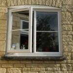 uPVC windows with astragal bar