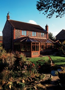 Oak effect uPVC conservatory planning permission