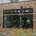 Patio extension bi-folding door