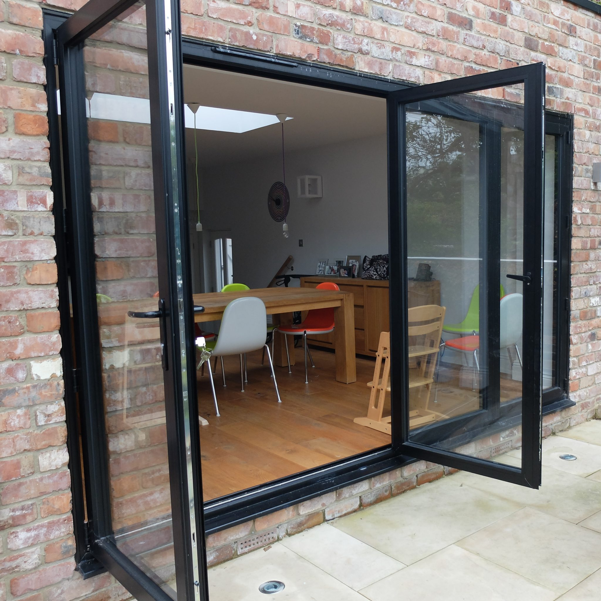 bi folding doors albany windows double glazing. Black Bedroom Furniture Sets. Home Design Ideas