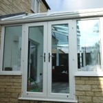 French doors otherwise known as double doors - conservatory doors