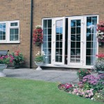Double glazed Georgian style french patio doors