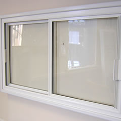 Secondary glazing units fitted over an existing window