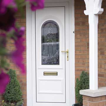 Upvc Entrance Doors Albany Windows Double Glazing Installers In