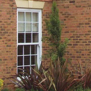 uPVC sash window