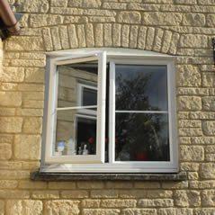 uPVC casement windows with double glazing