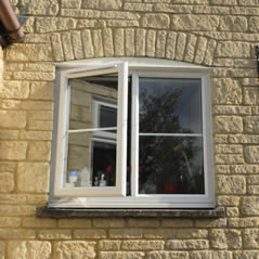 uPVC casement windows with double glazing