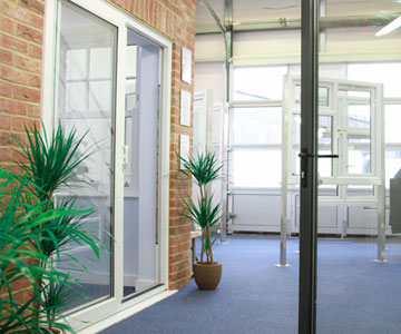 Albany windows and doors showroom