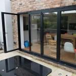 black-bi-fold-door