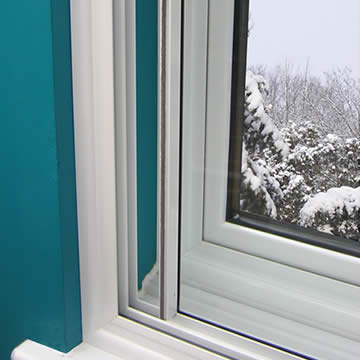 Secondary glazing unit to for extra performance