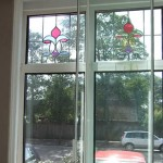 secondary glazing with a horizontal slider
