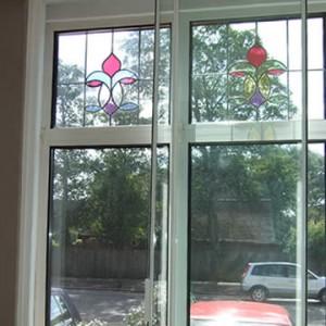 secondary glazing with a horizontal slider
