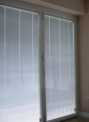 Sunfold integrated blinds