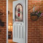 Albany wood effect composite door