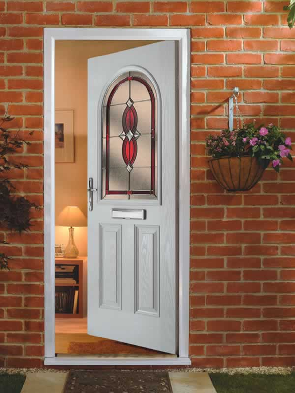 Albany wood effect composite door