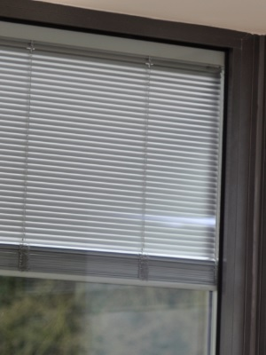 aluminium integrated blinds