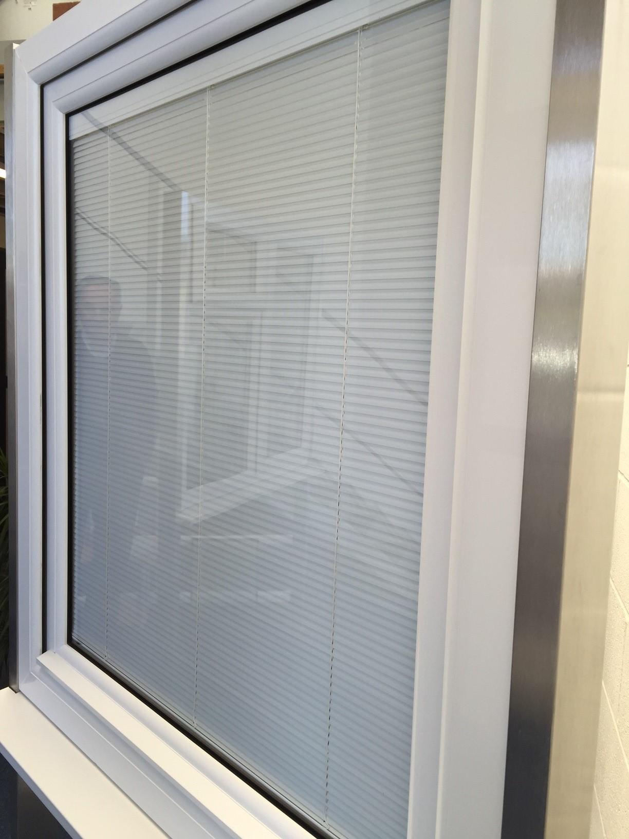 uPVC integrated blinds