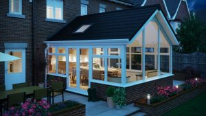 Tiled home extension