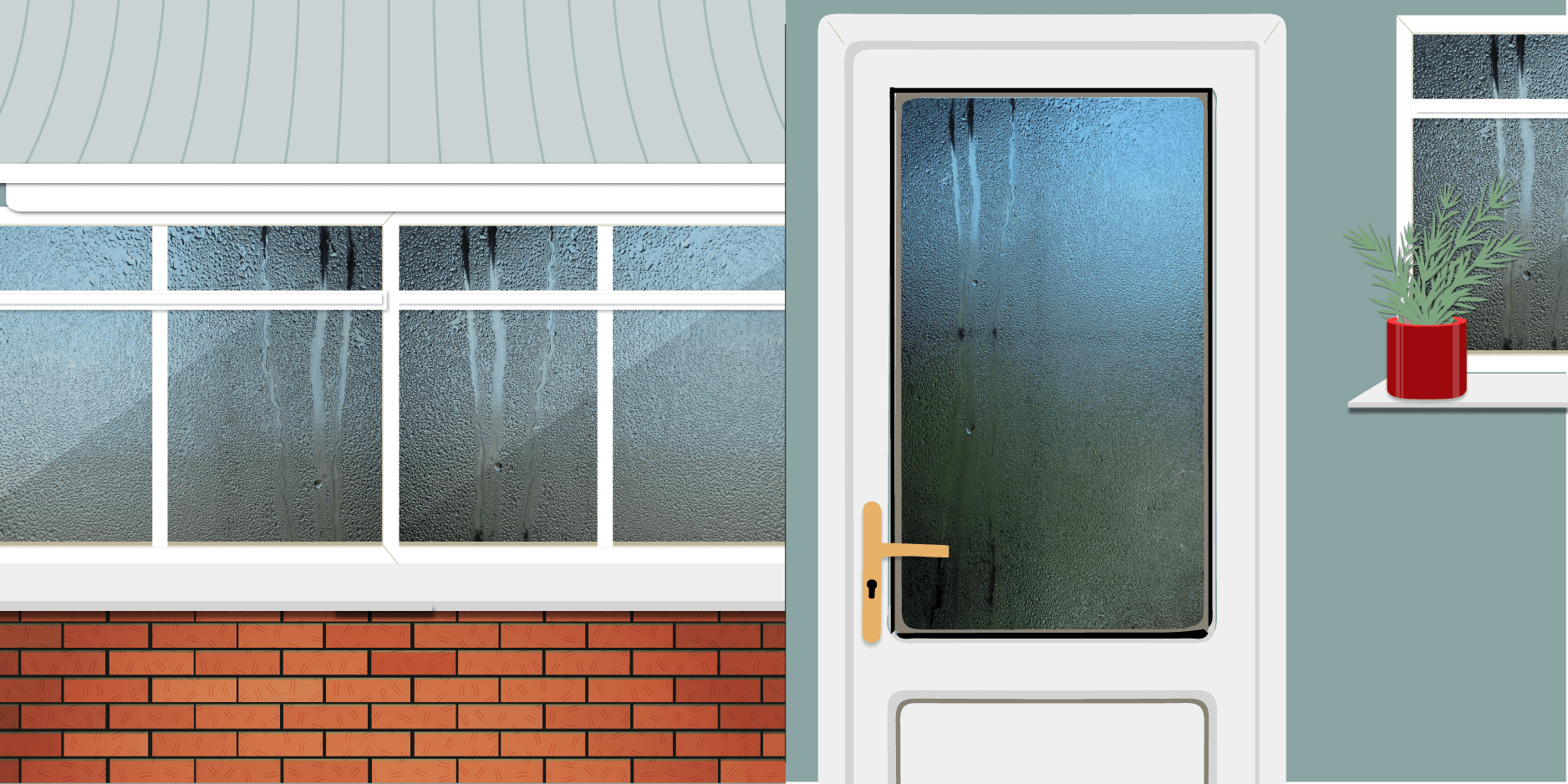 Condensation in conservatories, doors, and around the house – what ...