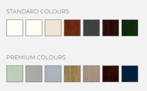 19 front door colour options.